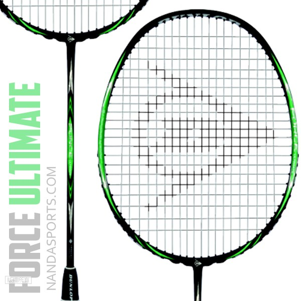 韓國登陸普DUNLOP Force ULTIMATE 羽球拍