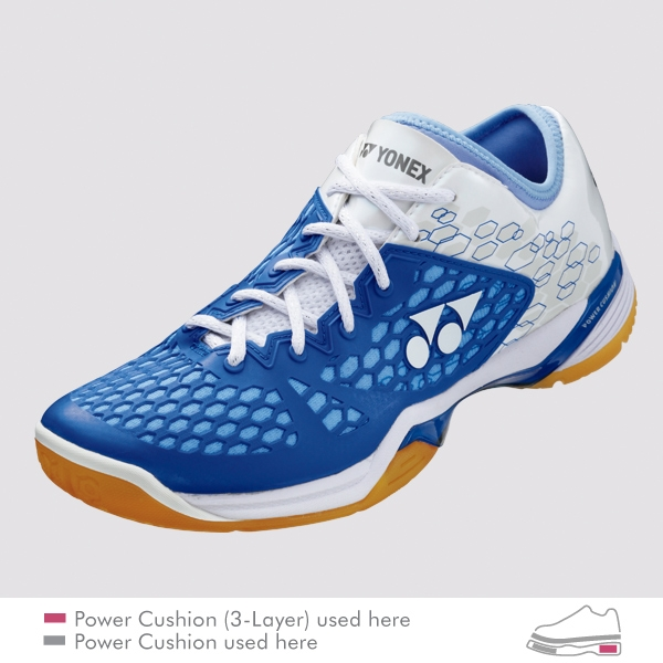 YONEX POWER CUSHION 03 Z LADIES 女款 羽球鞋 亮藍